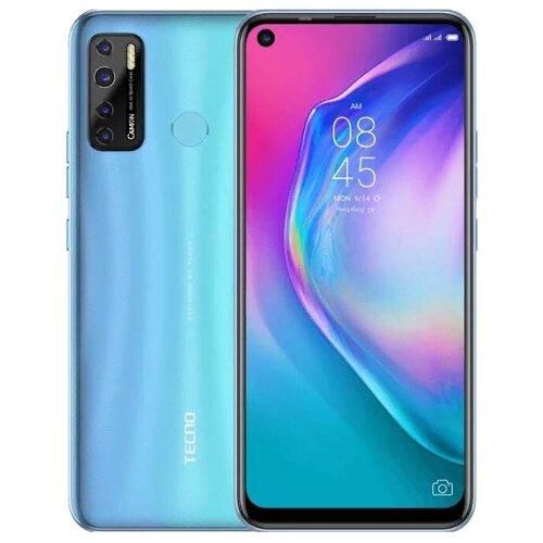 Смартфон TECNO Camon 15 Air, голубой сотовый телефон tecno camon 15 dark jade