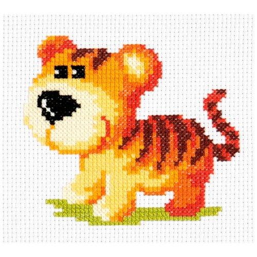 Купить Чудесная Игла Набор для вышивания Тигрёнок 12 x 11 см (10-29), Наборы для вышивания