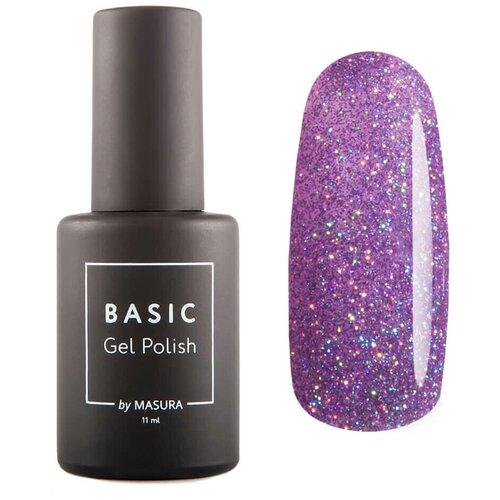 Гель-лак для ногтей Masura Basic, 11 мл, Сиреневая Радуга гель лак для ногтей masura basic 11 мл саргассово море
