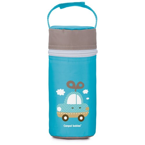 Купить Термосумка Canpol babies для детских бутылочек, Toys, цвет: голубой (250989266), Бутылочки и ниблеры