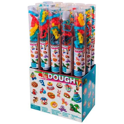 Купить Пластилин PlayGo 8 цветов с формами, в тубе (86285), Пластилин и масса для лепки