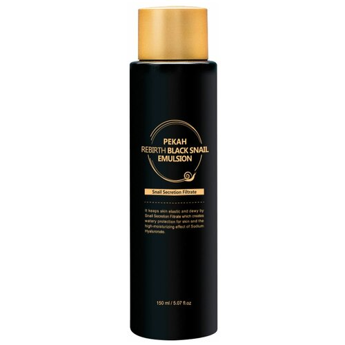 Pekah Rebirth Black Snail Emulsion Эмульсия для лица с муцином черной улитки, 150 мл