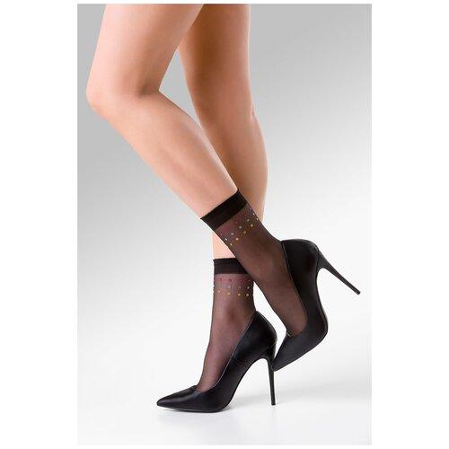 Капроновые носки Gabriella Sally 702, размер One size, nero/color