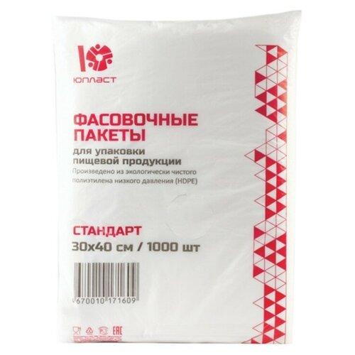 Пакеты Юпласт 604984, 1000 шт. пакеты для хранения продуктов юпласт 604984 37 см х 24 см 1000 шт