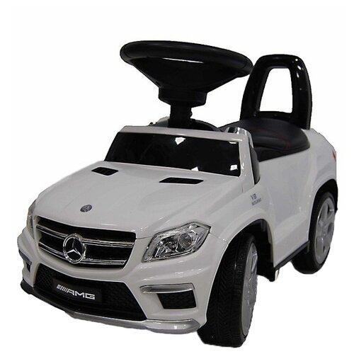 Каталка-толокар RiverToys Mercedes-Benz A888AA со звуковыми эффектами белый каталка толокар barty mercedes benz z332 со звуковыми эффектами красный