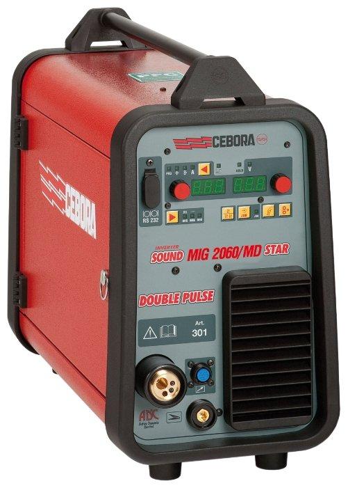 Сварочный аппарат Cebora SOUND MIG 2060/MD STAR DOUBLE PULSE (MIG/MAG)