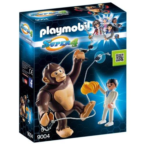 Набор с элементами конструктора Playmobil Super 4 9004 Гонк - гигантская обезьяна набор с элементами конструктора playmobil city life 9078 шопинг торговый центр