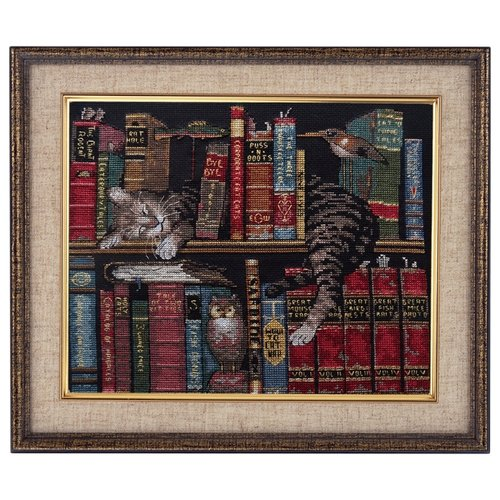 Купить Dimensions Набор для вышивания Frederick the Literate (Фредерик-литератор) 30 х 28 см (35048), Наборы для вышивания