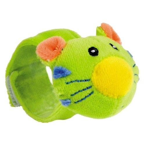 Погремушка Canpol Babies Hand Plush Rattle Friends from the jungle 68/005 зеленый тигренок