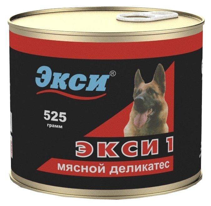 Корм для собак Экси Экси 1 Мясной деликатес