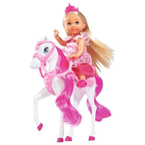 Кукла Simba Еви на лошади 12 см 5732833 кукла simba еви на лошади 12 см