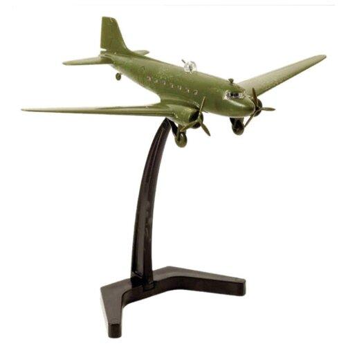 Сборная модель ZVEZDA Советский транспортный самолет Ли-2 (1942-1945) (6140) 1:200