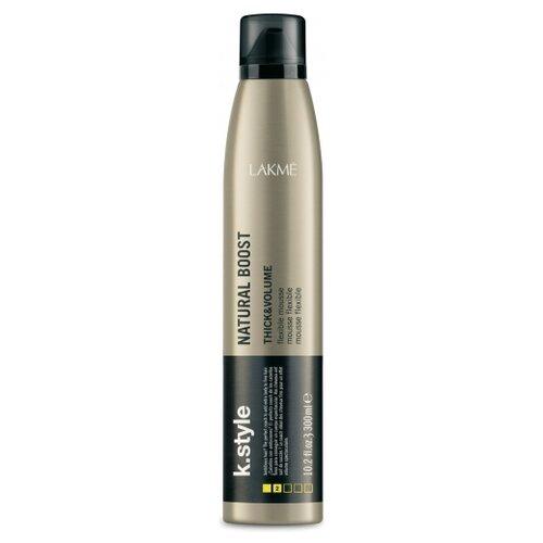 Lakme мусс K.Style Natural Boost для прикорневого объема, 300 мл  - Купить