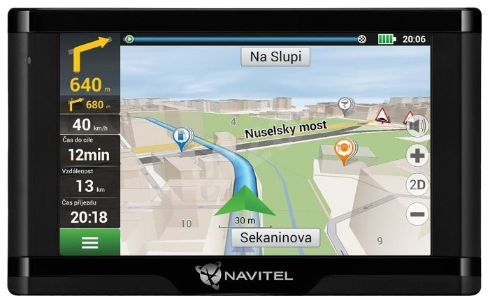 Навигатор NAVITEL E500 Magnetic