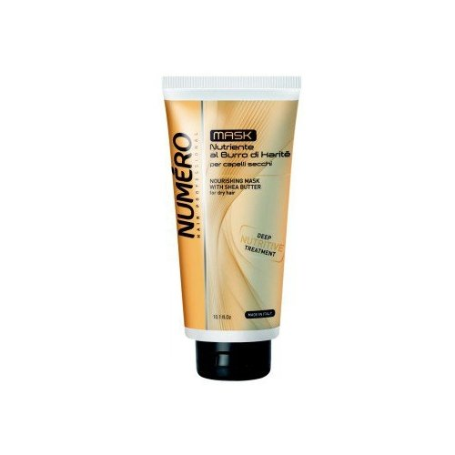 Brelil Professional Numero Маска для волос питательная с маслом карите, 300 мл