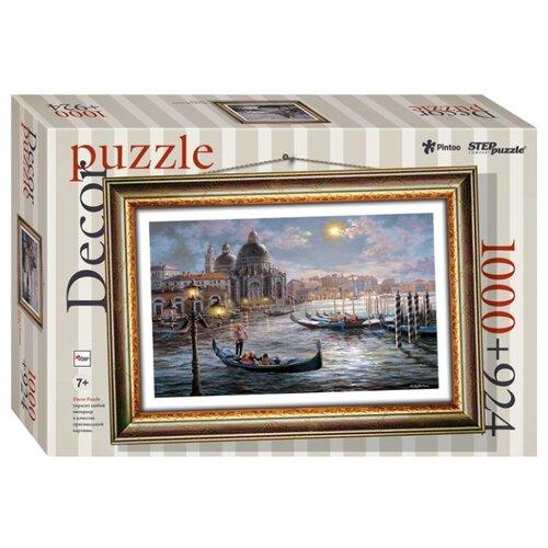 Пазл Step puzzle Decor Вечер в Венеции (98025), 1000 дет. step puzzle пазл для малышей дикие животные 4 в 1