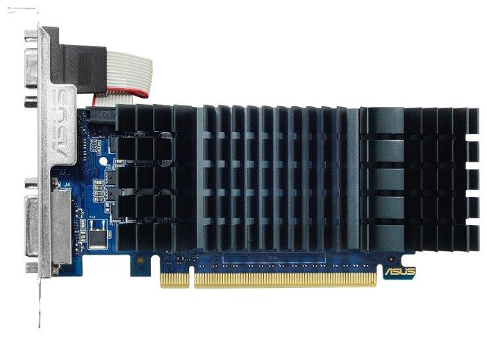 ASUS Видеокарта ASUS GeForce GT 730 902Mhz PCI-E 2.0 2048Mb 5010Mhz 64 bit DVI HDMI HDCP Silent