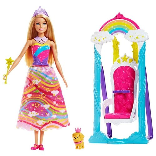 Купить Набор Barbie Дримтопия Радужное королевство, FJD06, Куклы и пупсы