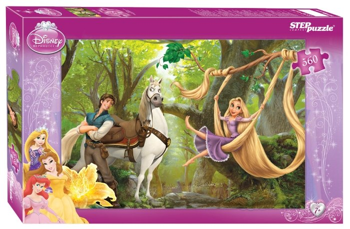 Пазл Step puzzle Disney Рапунцель (97016), 560 дет.