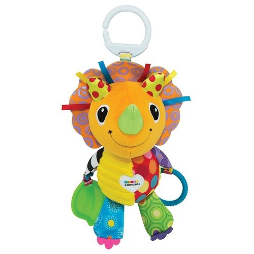 Подвесная игрушка Lamaze Динозаврик Дино (LC27575) разноцветныйПодвески<br>
