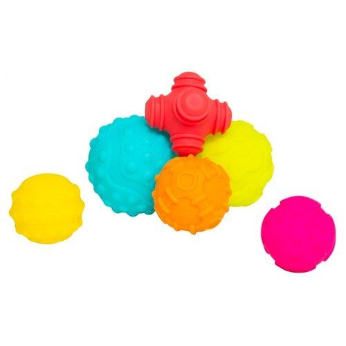 Купить Набор для ванной Playgro Textured Sensory Balls (4086398) разноцветные, Игрушки для ванной
