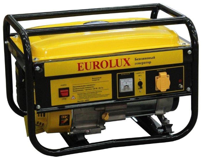 Бензиновая электростанция Eurolux G6500A