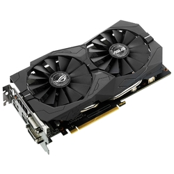 Видеокарта ASUS GeForce GTX 1050 Ti 1290MHz PCI-E 3.0 4096MB 7008MHz 128 bit 2xDVI HDMI HDCP Strix Gaming