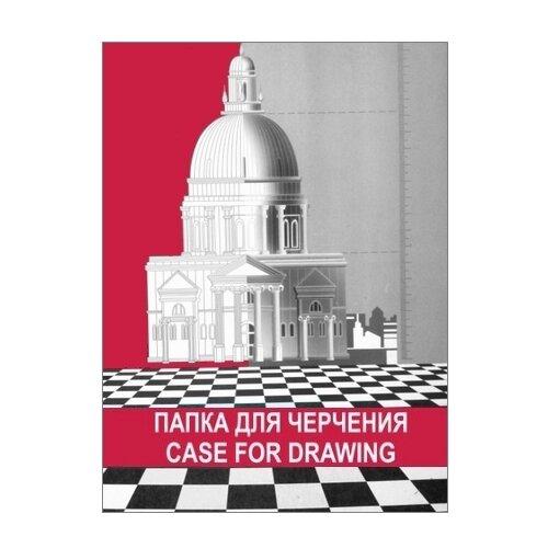 Купить Папка для черчения Лилия Холдинг 29.7 х 21 см (A4), 180 г/м², 10 л., Альбомы для рисования