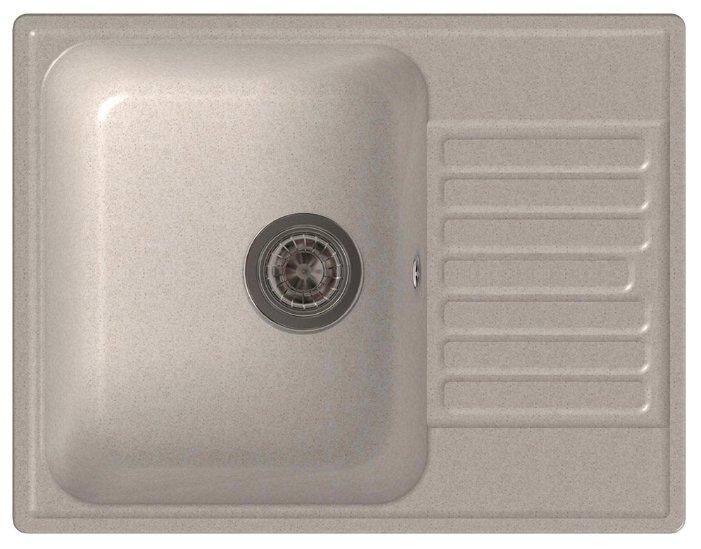 Врезная кухонная мойка LEX Garda 620 62х48см полимер