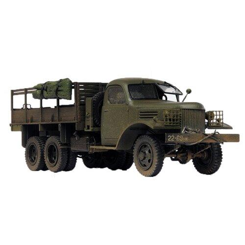 Купить Сборная модель ZVEZDA Советский грузовик 4, 5 тонны (ЗиС-151) (3541) 1:35, Сборные модели