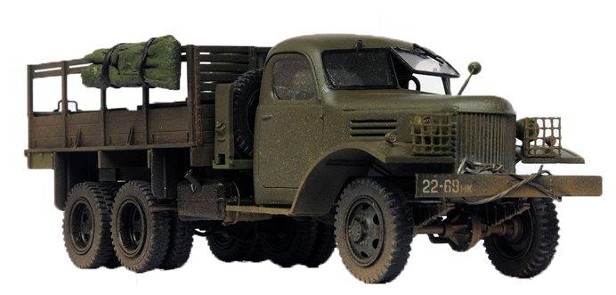 Сборная модель ZVEZDA Советский грузовик 4,5 тонны (ЗиС-151) (3541) 1:35