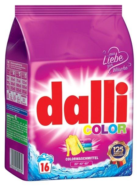 Стиральный порошок Dalli Color 6.5 кг картонная пачка