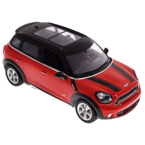 Купить Легковой автомобиль Rastar Mini Countryman (71700) 1:24 17 см красный, Радиоуправляемые игрушки