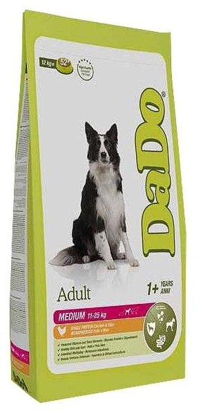 Корм для собак DaDo Для собак средних пород с курицей и рисом