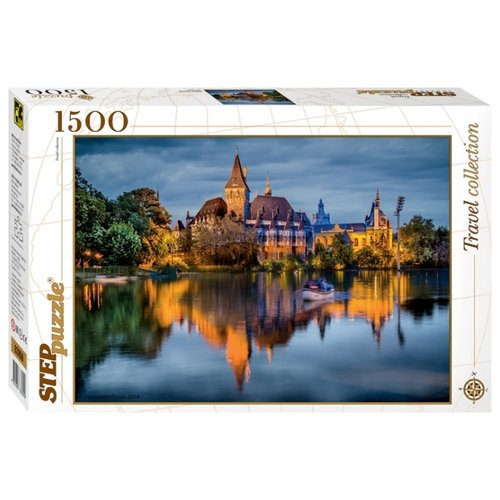 Пазл Step puzzle Travel Collection Замок у озера (83050) , элементов: 1500 шт.Пазлы<br>