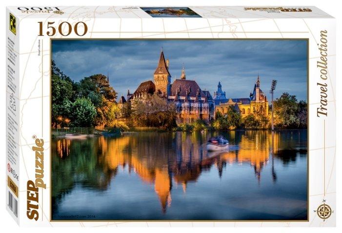 Пазл Step puzzle Travel Collection Замок у озера (83050) 1500 шт.