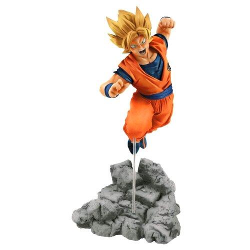 Bandai Dragon Ball Sup Soul X Soul Son Goku 22cm dragon ball z scultures big resurrection of f styling god super saiyan son goku bardock pvc action figure toy kt1759
