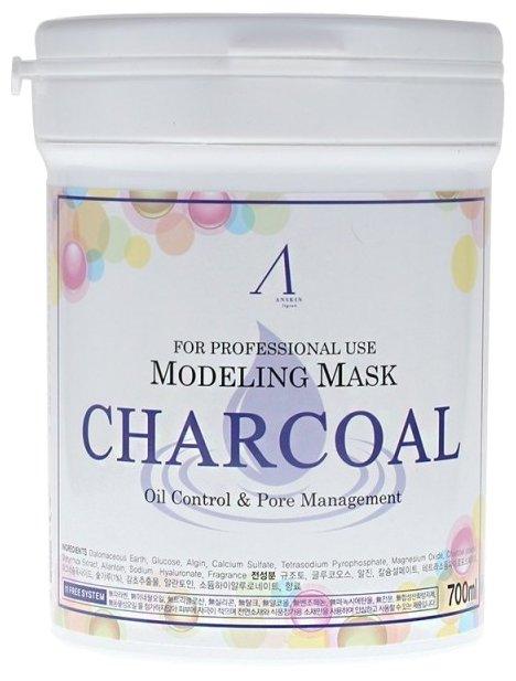Anskin маска альгинатная Charcoal для жирной кожи с расширенными порами