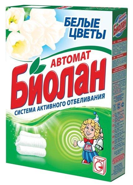 Стиральный порошок Биолан Белые цветы (автомат)