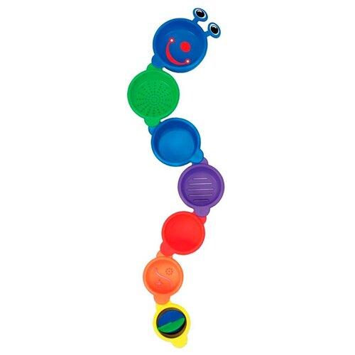 Игрушка для ванной Munchkin Пирамидка-Гусеница (11027) разноцветный игрушки для ванны munchkin игрушка для ванной пирамидка гусеница