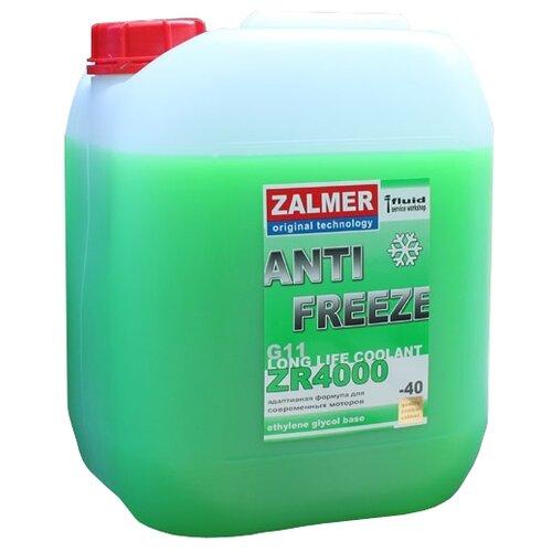 Антифриз Zalmer LLC ZR 4000 G11 (зеленый) 10 кг