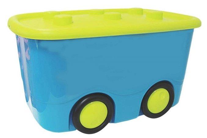 Idea (М-Пластика) Ящик для игрушек Моби Оранжевый