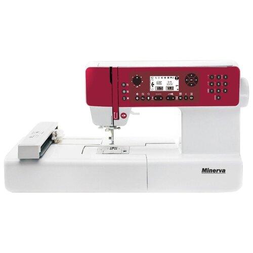 Швейная машина Minerva MC 450ER, бело-красный