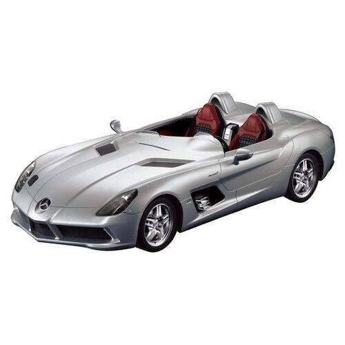 Легковой автомобиль Rastar Mercedes-Benz SLR (42400) 1:12 36 см серебристый машины rastar машина на радиоуправлении mercedes benz slr 1 12
