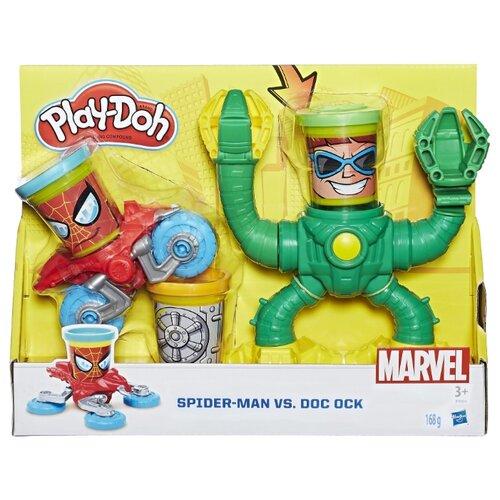 Купить Масса для лепки Play-Doh Человек-паук (B9364), Пластилин и масса для лепки
