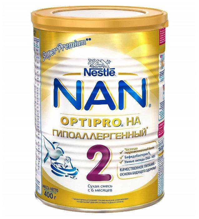 Смесь NAN (Nestle) Гипоаллергенный 2 Optipro (с 6 месяцев) 400 г