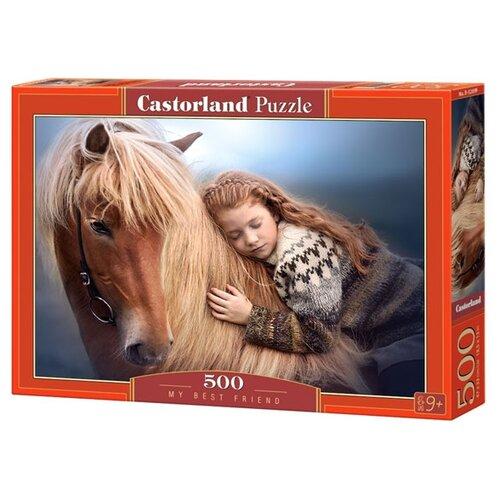 Купить Пазл Castorland My Best Friend (B-52899), 500 дет., Пазлы