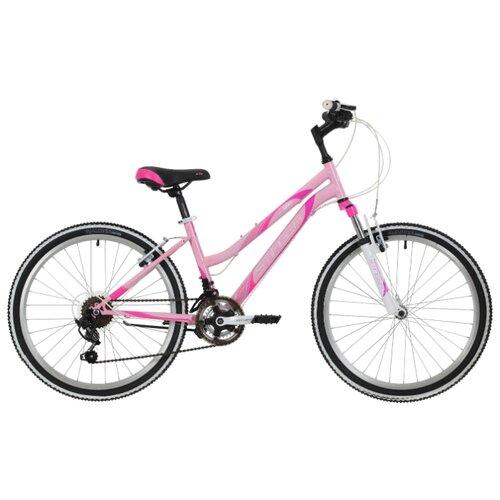 Подростковый горный (MTB) велосипед Stinger Latina 24 (2018) розовый 14 (требует финальной сборки)Велосипеды<br>