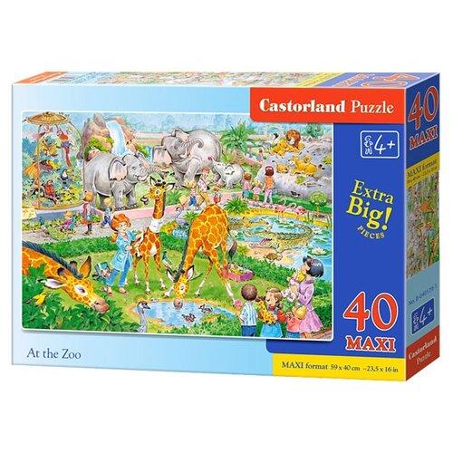 Купить Пазл Castorland At the Zoo (B-040179), 40 дет., Пазлы