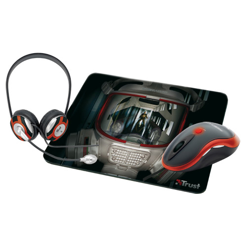 Мышь Trust Gamer Pack Advanced GM-6400 Red-Black USB